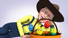 Old Mac Donald  Popular Children's Nursery Rhymes  Happy Eggs