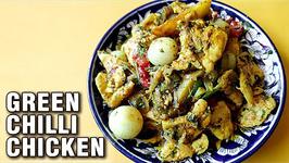 Green Chilli Chicken Recipe   Green Chicken Masala Ramadan  Eid Special Recipe By Varun Inamdar