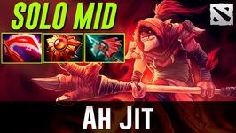Ahjit Solo Mid Dazzle Dota 2