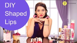 How To Apply Shaped Lip Colour - Lipstick Tips And Tricks - Easy Make Up Tutorials