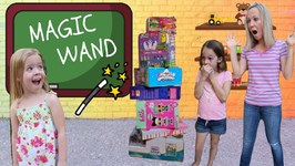 Maya's Magic Wand at Toy School !!!