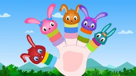 Finger Family - Bunny - Nursery Rhymes For Toddlers - Cartoons For Babies