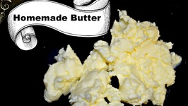 Homemade Butter - Dhaba Style - White Butter
