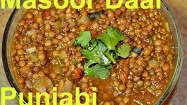 Sabut Masoor Dal - Authentic Punjabi Style