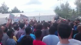 Manus Detention Centre Refugees and Asylum Seekers Chant 'Thank You, McKim'