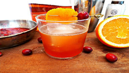 Cocktail - Cranberry Old Fashioned