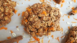 Breakfast Recipe- Healthy Carrot Cake Breakfast Cookies