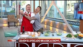 Healthy Brassicas Bowl With Chef Ronnie Woo And Ross Mathews