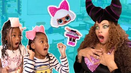 Toy School! Bad Teacher Maleficent w/ FAKE LOL Surprise Dolls Prank