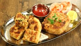 Baida Roti Recipe - Street Style Chicken Keema Baida Roti - Mumbai Street Food - Varun