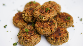 Moong Dal Tikki Recipe - Baked Moong Dal Tikki - Healthy Snack Recipe - Bhumika