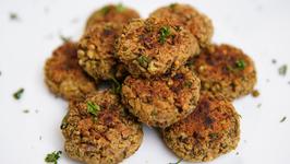 Moong Dal Tikki Recipe - Baked Moong Dal Tikki - Healthy Snack Recipe - Bhumika