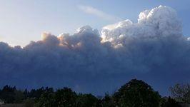 Timelapse Shows Smoke Billowing Near Portuguese Coast