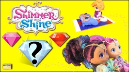 Shimmer and Shine Zacs GENIE GEMS SURPRISE TOYS Genie Magic Carpet Toy  Opening Video