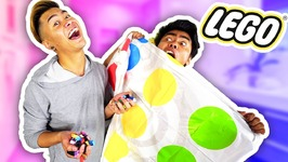 LEGO TWISTER CHALLENGE WITH MY BROTHER