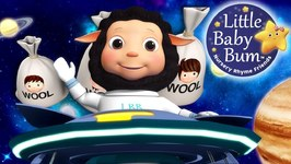 Baa Baa Black Sheep - Nursery Rhymes for Babies - Songs for Kids