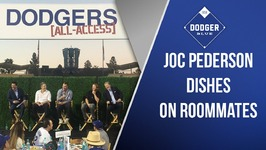 Dodgers All-Access: Joc Pederson On Living With Corey Seager, Trayce Thompson and Alex Wood