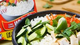 Minute Chicken BanhMi Style Rice Bowl