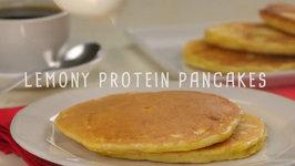 Lemony Protein Pancakes