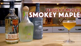 Smoky Maple Tequila And Mezcal Cocktail
