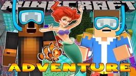 Minecraft - Little Donny Adventures - SECRET MERMAID VILLAGE & SCUBA DIVING
