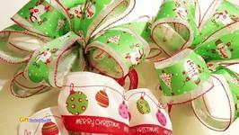 GOODWILL CHRISTMAS BOW DIY