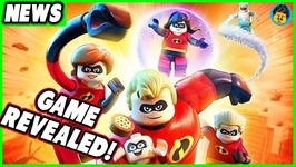 LEGO The Incredibles Videogame Revealed- Brick Show News
