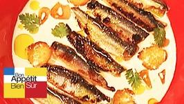 Sardines au lait d'amandes