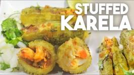 Stuffed Karelas Or Bitter Gourd