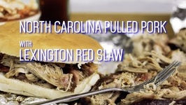 BBQ Pulled Pork And Coleslaw- North Carolina Style