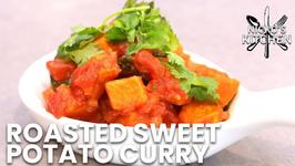 Roasted Sweet Potato Curry / Vegetarian Recipe / Low Carb Recipe