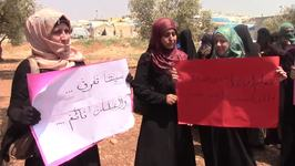 Syrians Rally in Solidarity with Murdered Civil Defense Volunteers