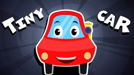 Tiny Red Car Song - Nursery Rhymes For Kids