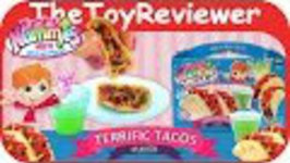 Yummy Nummies Terrific Tacos Makers Make a Meal Fun Set Unboxing Toy Review by TheToyReviewer