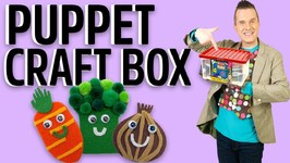 Puppet Craft Box - Mister Maker