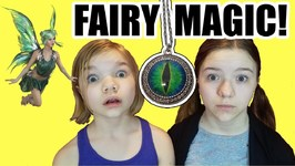 Fairies In Our Room Magic Necklace! Ep3