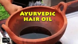 Ayurvedic Hair Massage Oil - How To Make Hair Oils At Home - For Long And Shiny Hair