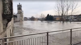 Heavy Rain Causes River Overflow and Flooding in Parma Province