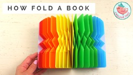 DIY Book Folding - How to Fold Book Pages into Book Art!