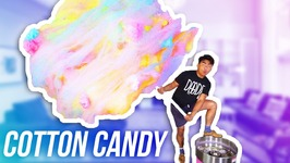 DIY WORLD'S FATTEST COTTON CANDY EVER