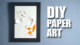 Paper Art  Room Décor Ideas