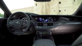 LEXUS LS 500h in White Interior Design