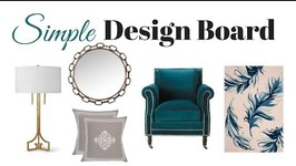 Decorating Quick Tip: How To Create A Simple Design Board For Home Projects