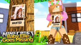 Minecraft - Little Kelly Adventures : BABY ELLIE GOES MISSING!
