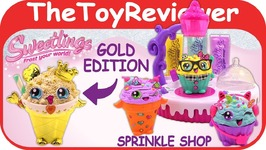 Sweetlings Sprinkle Shop Gold Edition Alex DIY Clay Craft Kit Unboxing Toy Review