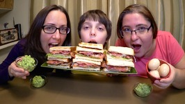BLT Sandwiches And Guacamole / Gay Family Mukbang - Eating Show
