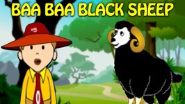Baa Baa Black Sheep - Animated Nursery Rhymes - Popular English Rhymes For Kids
