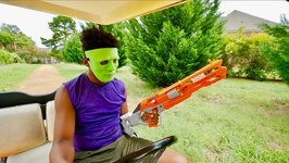 Nerf War - Green Mask Menace