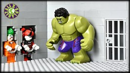 Lego Hulk Prison Break