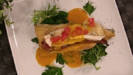 David Banks - Cornmeal Crusted Trout With Bacon And Brie